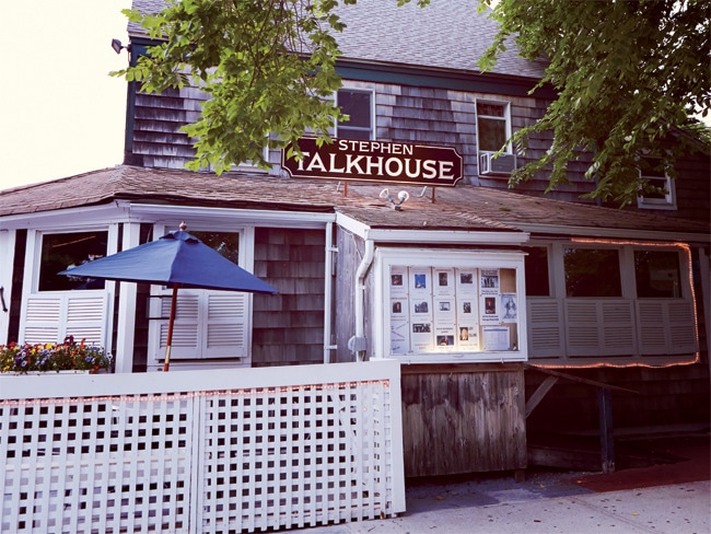 The Stephen Talkhouse in Amagansett is a local haunt with a global music scene.